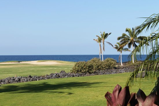 Halii Kai Resort at Waikoloa Beach:                   View from Patio