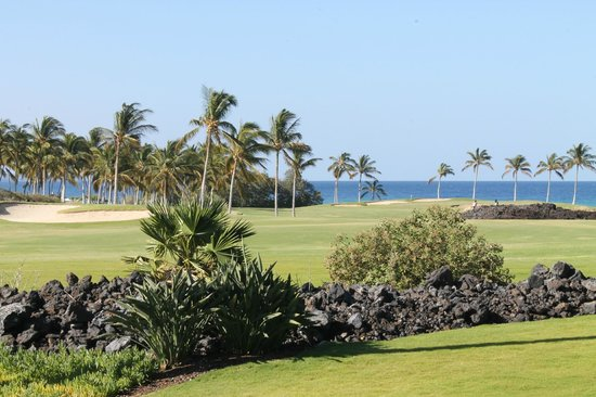 Halii Kai Resort at Waikoloa Beach:                   View from 12E