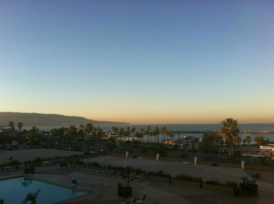 Crowne Plaza Redondo Beach & Marina:                                     Sunset view from our room