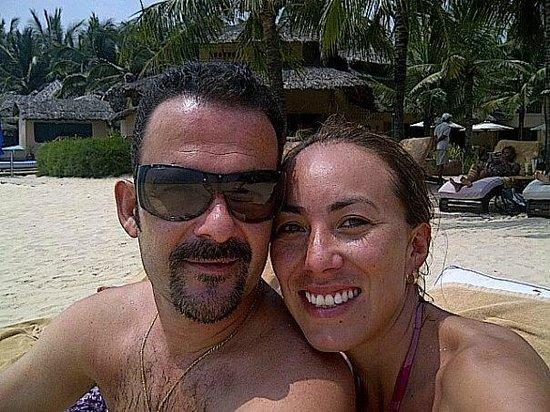 Mia Resort Mui Ne:                   Nosotros en la playa