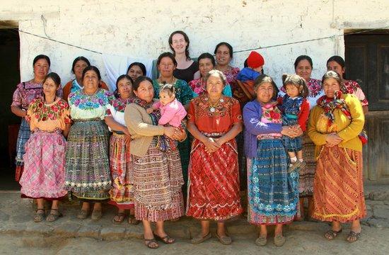 Thirteen Threads Fair Trade Store and Maya Women's Center: Women's group from Chirijqiac