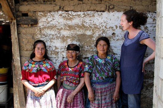 Thirteen Threads Fair Trade Store and Maya Women's Center: 3 generations of women and OB staff