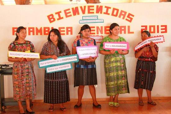 Thirteen Threads Fair Trade Store and Maya Women's Center: Maya Women's Center: leadership workshop