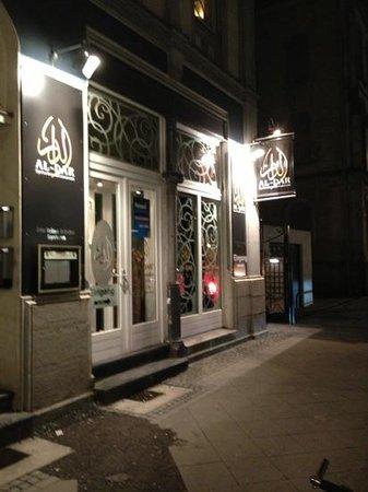Al Dar:                   outside restaurant