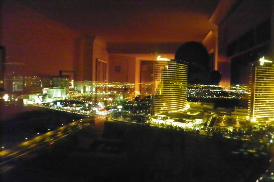 Trump International Hotel Las Vegas:                   View from room