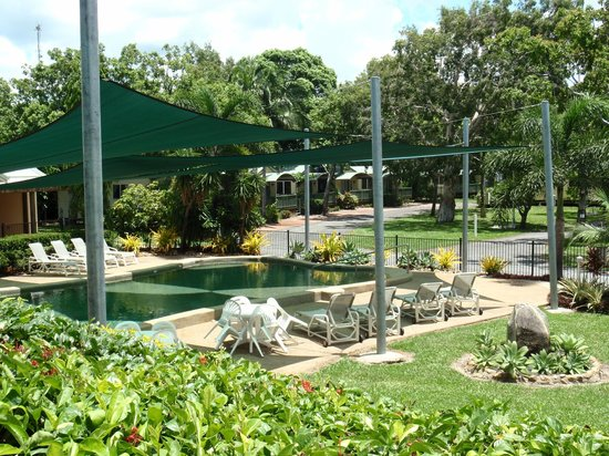 Cooktown, Australien: Shaded Pool Area