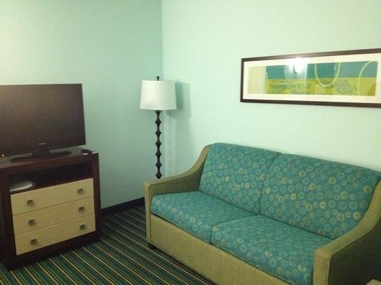 Holiday Inn Express Hotel & Suites Norfolk International Airport:                   Front room