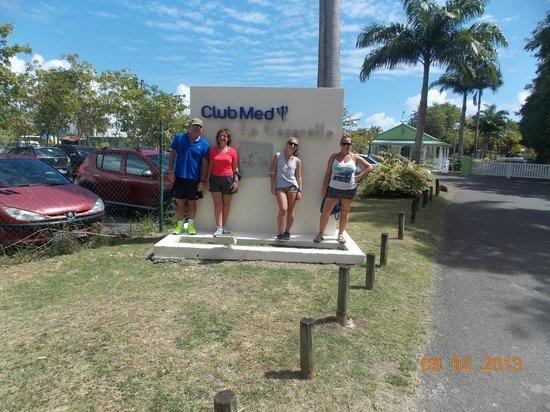Club Med La Caravelle:                   Entrada