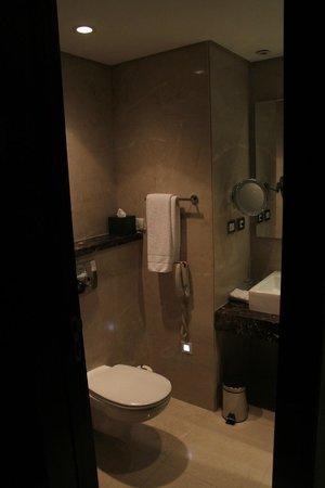 Le Meridien Pyramids Hotel & Spa:                                     Hotel Room Bath Room