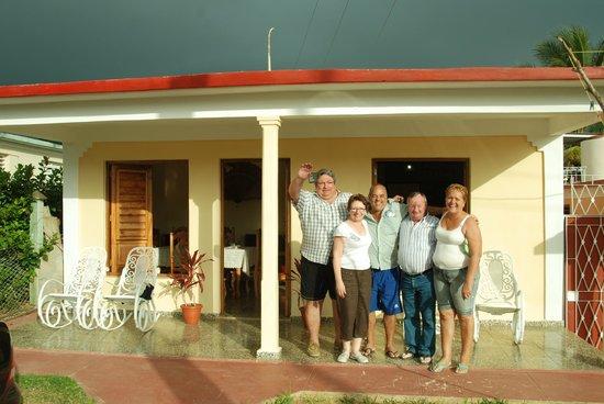 Villa Jorge y Ana Luisa:                   Le jour du départ