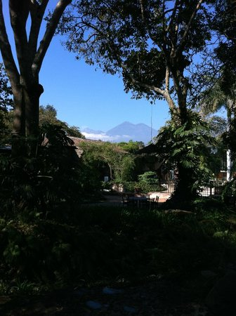 Porta Hotel Antigua:                   Volcanoes of Guatemala