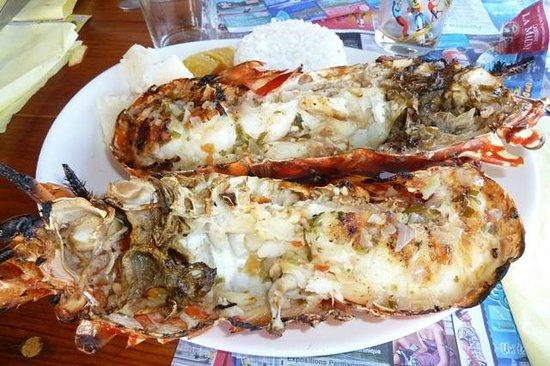Restaurant le Titiris: langouste grillée