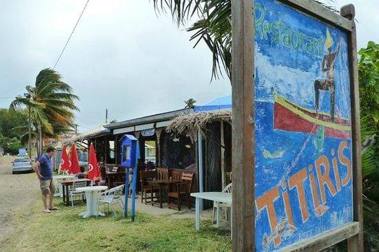 Restaurant le Titiris: facade
