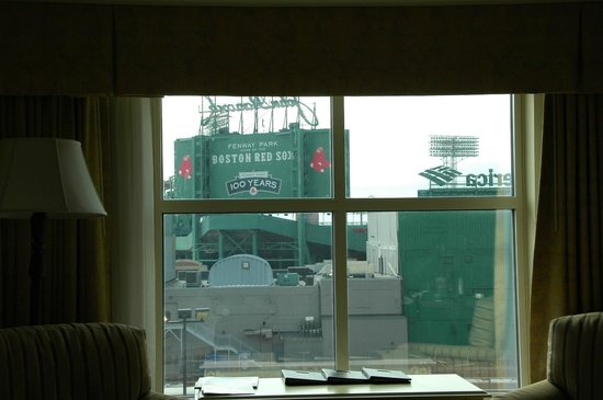 Hotel Commonwealth:                   Fenway and House of Blues across the street