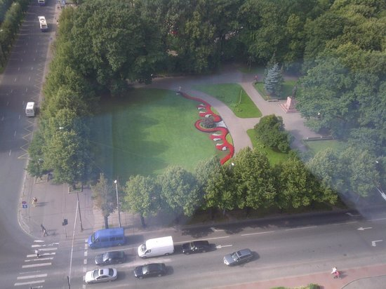 Radisson Blu Latvija Conference & Spa Hotel:                   View from the upper floors