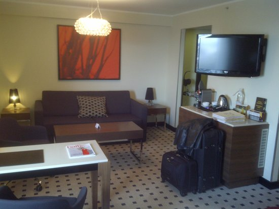 Radisson Blu Hotel Latvija:                   Executive room