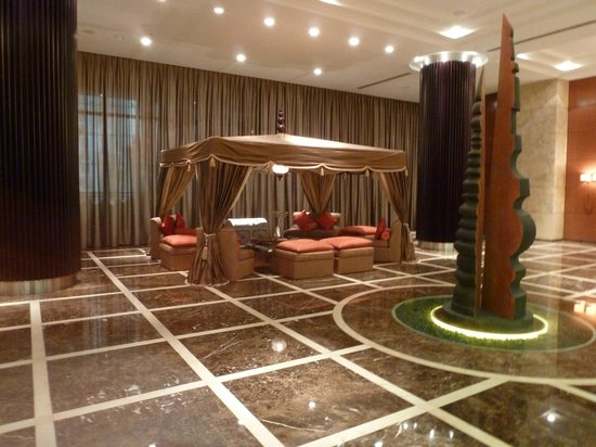 Grosvenor House Dubai:                   There are always lots of quiet areas to chill out