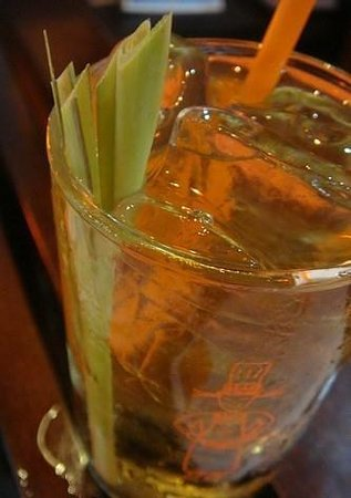 Pum Thai Restaurant:                                     Lemon grass drink, homemade and so nice.