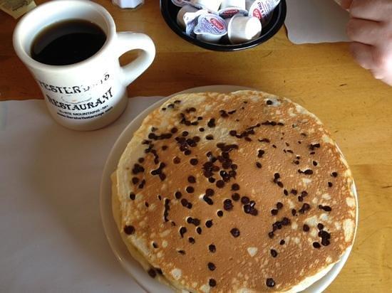 Yesterday's Restaurant:                   Chocolate Chip Pancakes