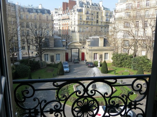 Saint James Paris - Relais et Chateaux:                   View from my window
