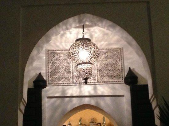 Riad Al Kadar:                   Vacker inredning!