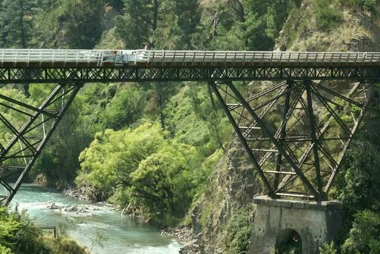 Hanmer Springs Attractions:                   The Bridge we jumped off