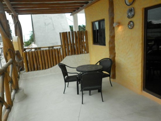 Hotel Casa Lupita: Suite Balcony