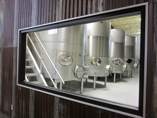 Kerrville Hills Winery: Tank Room