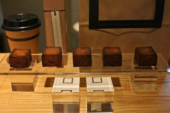Omotesando Koffee: Kashi: baked custard square