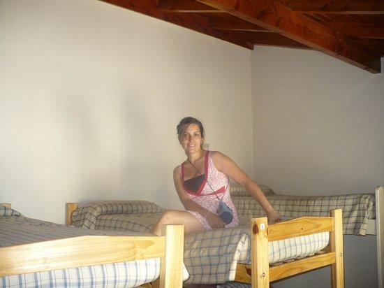Hostel Las Moiras:                   Mi habitación compartida!!