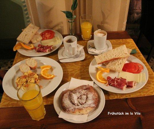 Hotel La Vila: Frühstücksauswahl