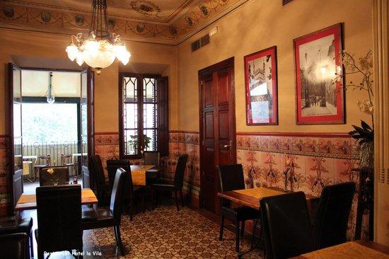 Hotel La Vila: Blick ins Restaurant