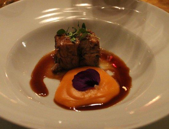 Hotel La Vila: ein Gedicht für den Gaumen: Lamm und Maronenpürree