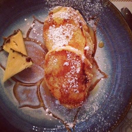 Seven South Street Inn:                                     Pineapple French Toast