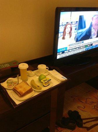 Hotel Nikko Xiamen :                                     le pt'it déj.. café froid et une tasse meme si vous demndez