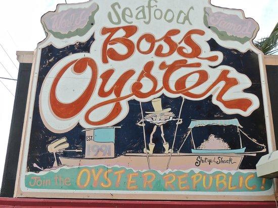 Boss Oyster: The Boss