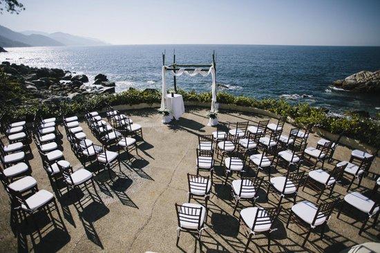 Villa Mia:                   Ceremony spot