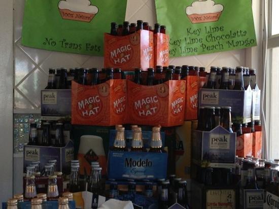 Angler's:                   Beer assortment