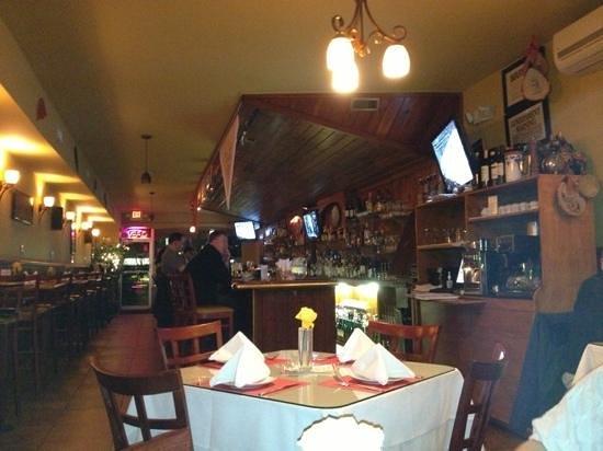 Espana Tapas Bar:                   from my seat