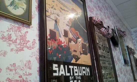 The Olde Young Tea House:                   Vintage poster decor