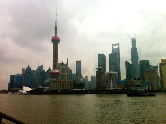 Shanghai Tour Facilitator - Harris Private Tour:                   Shanghai skyline