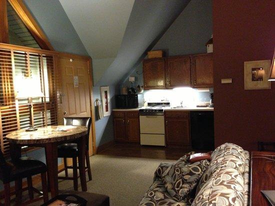 Iris Inn:                   The kitchenette area.