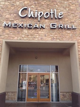 Chipotle Mexican Grill:                   Front door