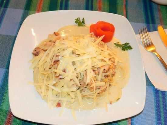 Lupita: Spaghetti Carbonara