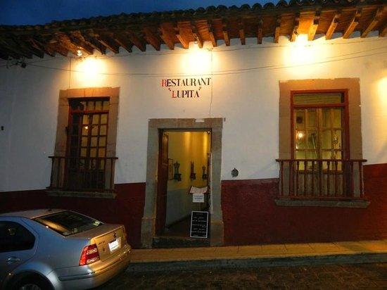 Lupita: Front Entrance