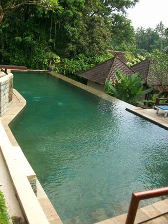 Beji Ubud Resort: Middle Pool with diving board