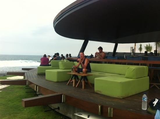 Komune Resort, Keramas Beach Bali:                   great spot! cold Bin Tang great tunes and a view to die for! who needs Kuta!