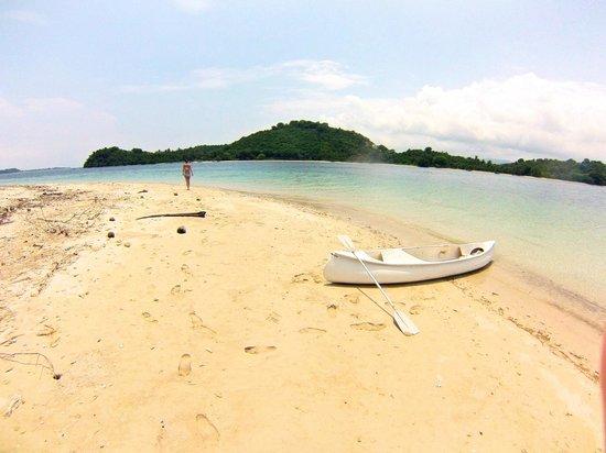 Pearl Beach Resort:                                     White sand beaches