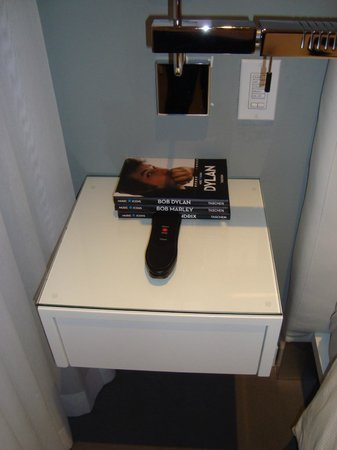 The Marlin Hotel:                   night stand