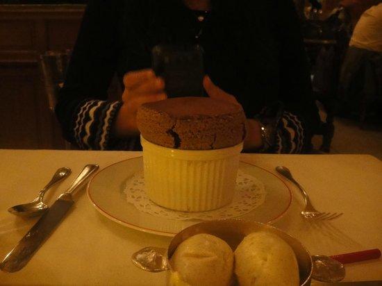 Benoit New York :                   Soufle de chocolate